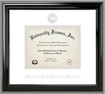 classic diploma frame ebony frame - Diploma Frames Target