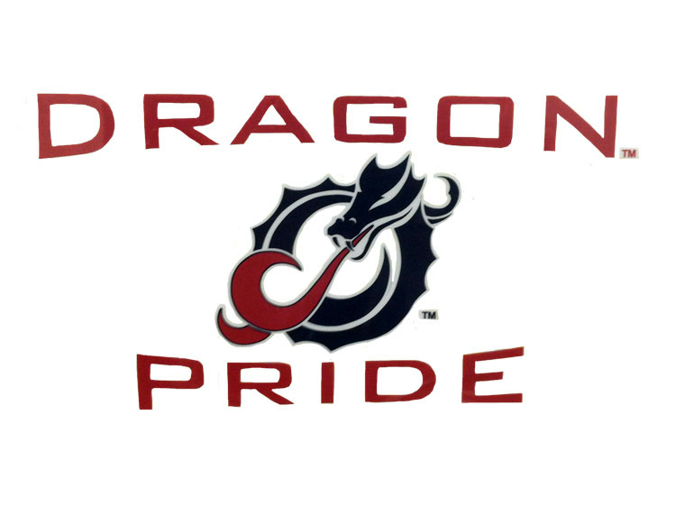 Dragon Pride Color Shock Decal (SKU 11063865113)