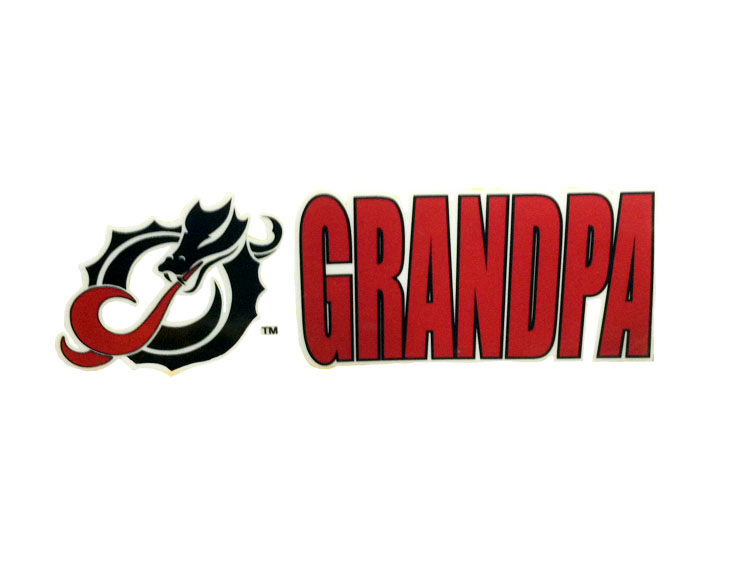 Dragon Grandpa Colorshock Decal (SKU 11063902140)
