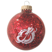 Red Sparkle Dragon Ornament