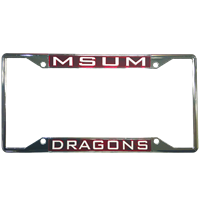 Laser Magic License Plate Dragon Frame