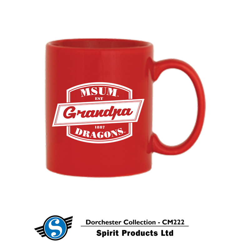 Spirit Grandpa Red Dorchester Mug (SKU 11109136119)