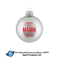Spirit Matte Metallic Msum Ornament