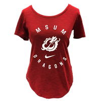 Nike Womens Dragons Slub Tee
