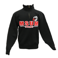 Blue 84 Msum Dragons Cotton 1/4 Zip