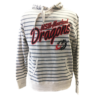 Ci Sport Dragons Striped French Terry Hood