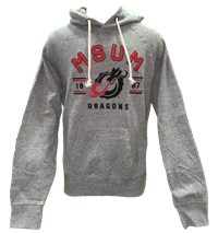 Campus Crew Embroidered Msum Dragon Hood
