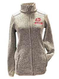 Tow Womens Msum Dragons Full Zip Sweater
