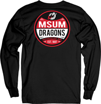 BLUE 84 MSUM DRAGONS OVERSTRUNG LS