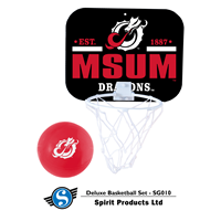 Spirit Msum Dragons Delux Basketball Set
