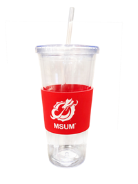 Lxg Engraved Silicone Sleeve Tumbler