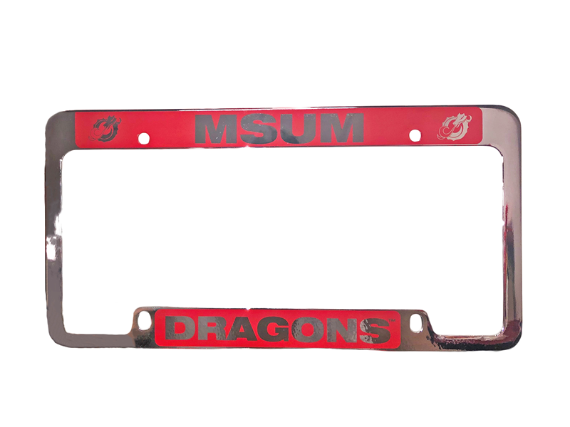 Lxg Msum Dragons Laser Engraved License Plate Frame (SKU 11211334113)